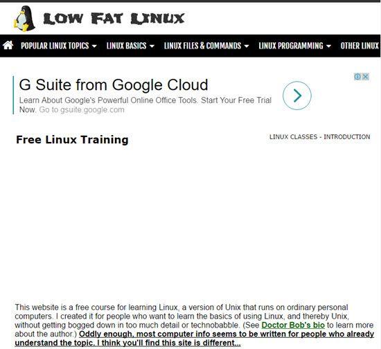 LOWFAT Linux