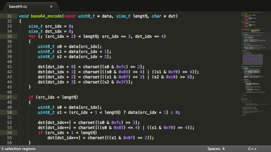 Sublime Text Editors