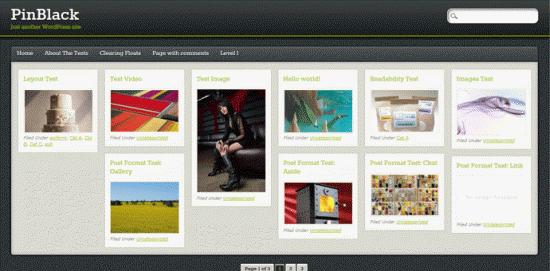 Photo Blog WordPress Themes
