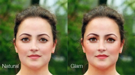 photoshop lip gloss