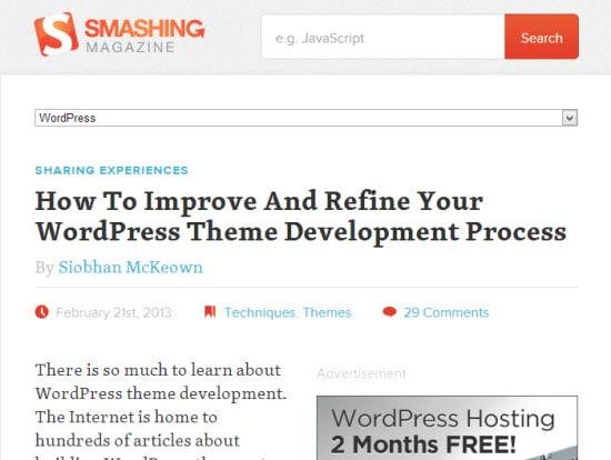 WordPress Theme Development Tutorials