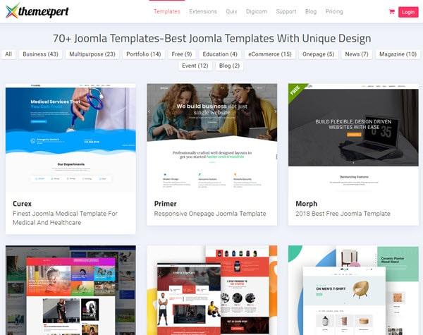 ThemeXpert Buy Premium Joomla Template