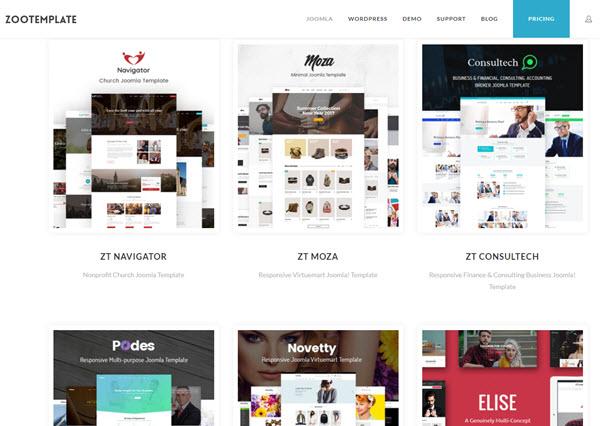 ZooTemplate Buy Premium Joomla Template