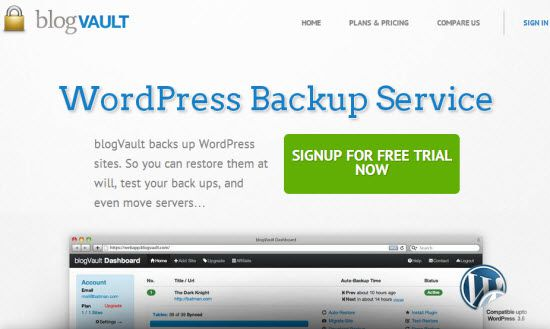10 Best WordPress Backup Plugins to Safe your Blog from Disaster