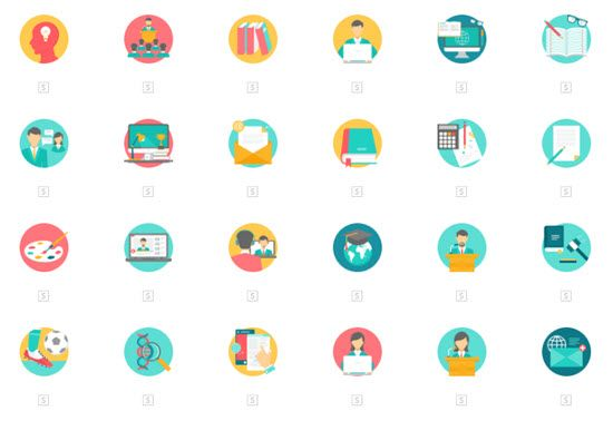 vector icon sets