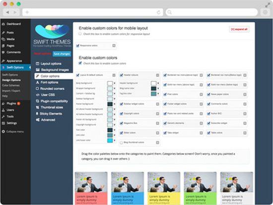 Swift WordPress Theme
