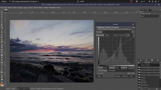 GIMP Image Resizer Software