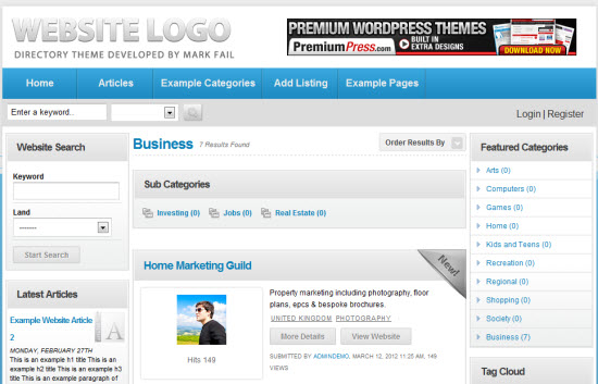 PremiumPress DirectoryPress - PremiumPress Coupon