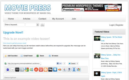 PremiumPress MoviePress