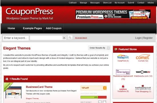PremiumPress couponpress