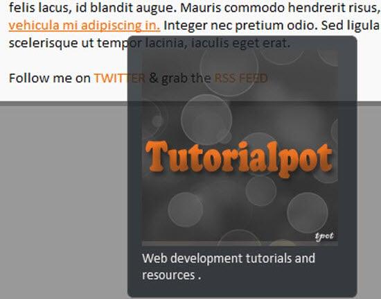 jQuery Tooltips Plugins