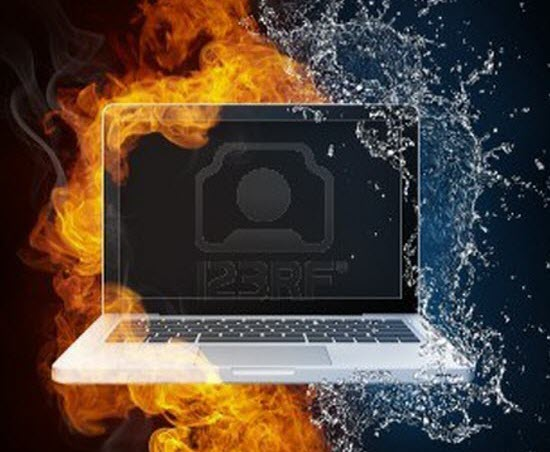 Fire and Water Graphic