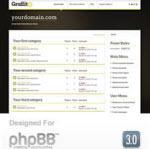 Graffito phpBB3 Style from RocketTheme