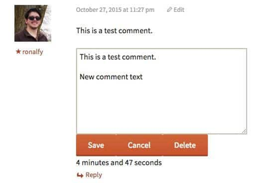 Simple Comment Editing WordPress Comment Plugins