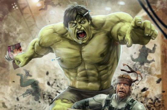 Superheroes Illustrations