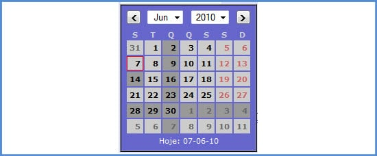 jQuery Date Picker