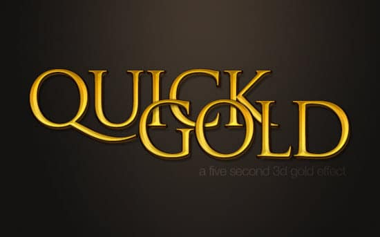 Gold-Text-effect-photoshop