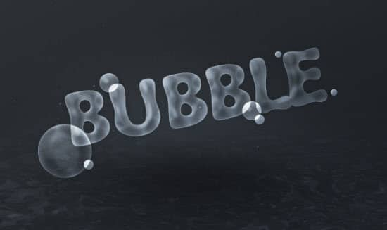 bubble-text-effect-photoshop