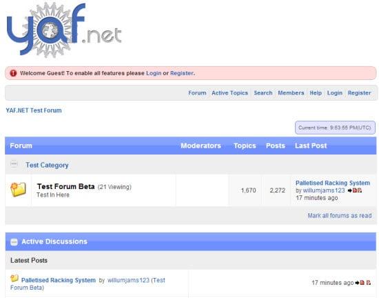 ASP Forum Software