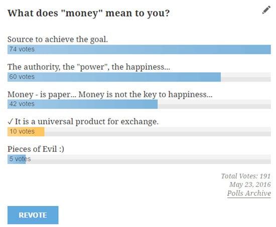 Democracy Poll