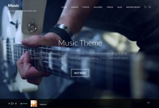 Themify Music Theme
