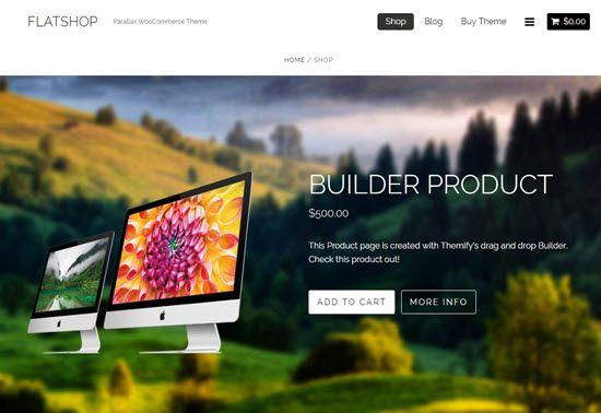 Flatshop WordPress WooCommerce