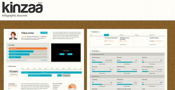 Kinzaa -  Infographic Maker