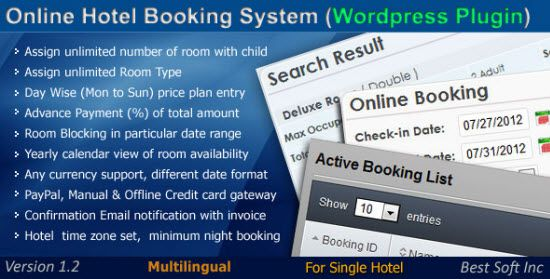 Hotel Booking Plugins