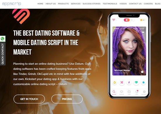 Datum Online Dating Script