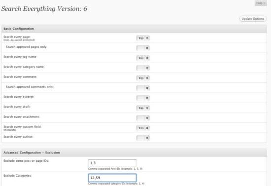 WordPress Search Plugins