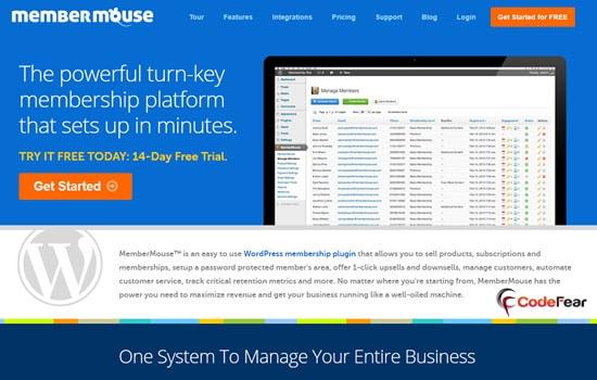 MemberMouse WordPress Membership