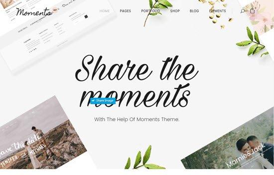 Moments - A Multipurpose Wedding Theme