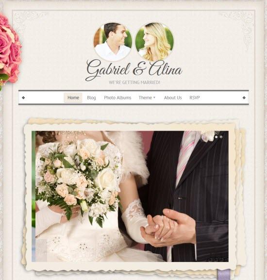 WordPress Wedding Themes
