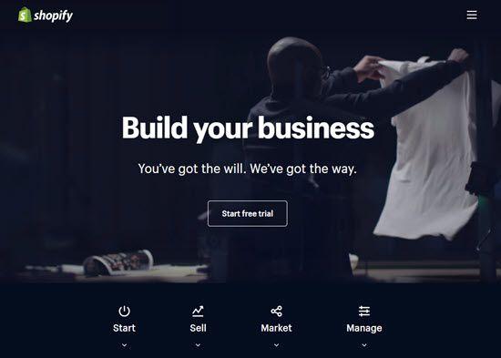 Shopify WordPress Alternative CMS