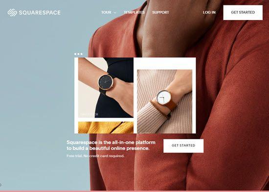 Squarespace WordPress Alternative CMS