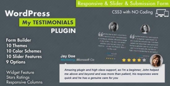 WordPress Testimonial Plugins
