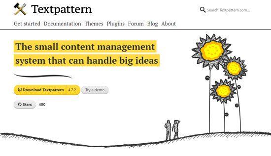 Textpattern WordPress Alternative CMS