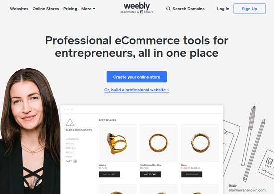 Weebly WordPress Alternative CMS
