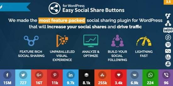 WordPress Social Sharing Plugins