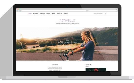 Activello – Simple Multipurpose Blog Theme