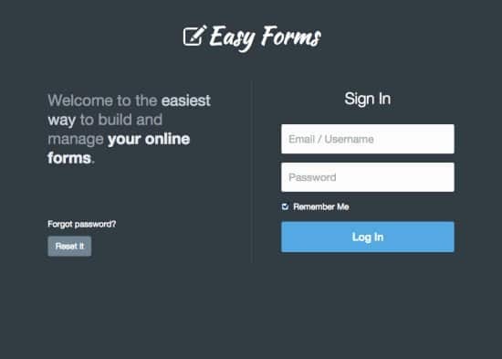 Easy Forms - Advanced Form Builder and Manager