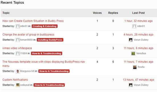 BuddyPressOnline Community Plugin