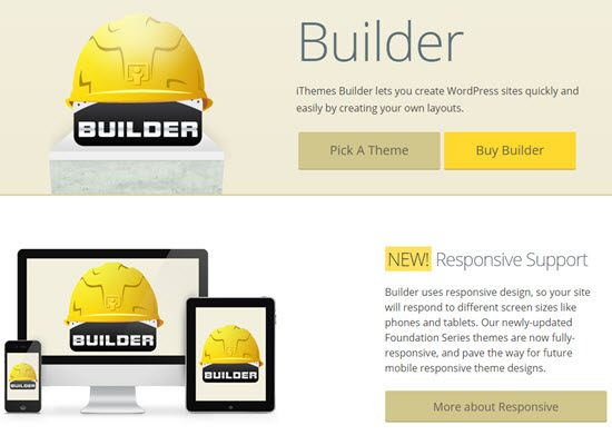 iThemes Drag and Drop Page Builder