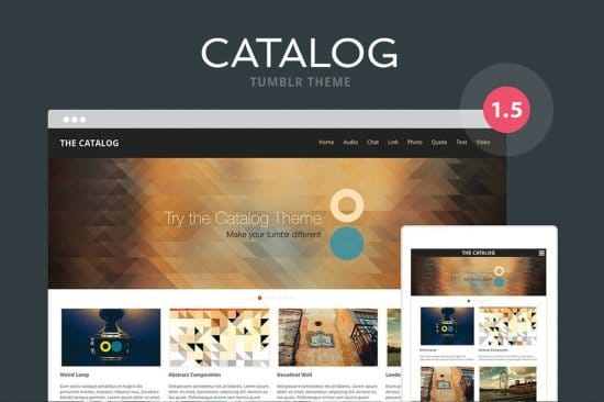 Catalog Free Tumblr Themes
