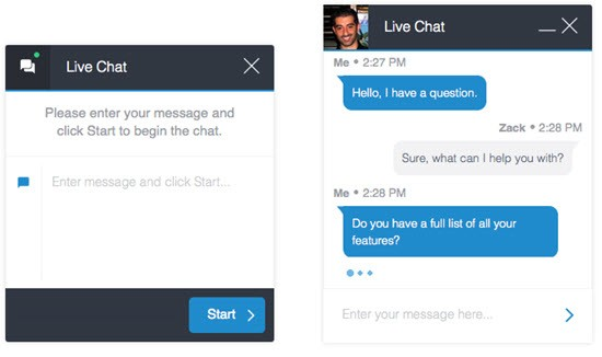 Formilla WordPress live chat plugins