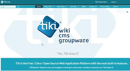 Tiki Wiki Software