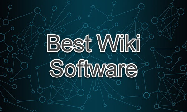 Best Wiki Software Free & Open Source