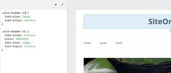 SiteOrigin WordPress CSS Editor