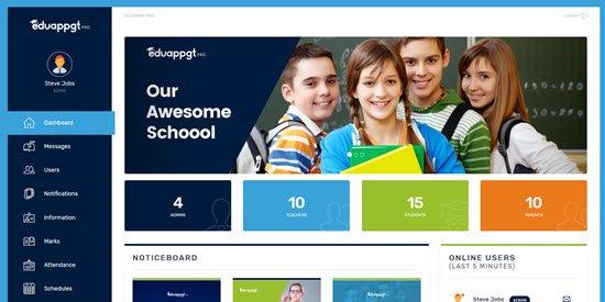 EduAppGT School Management PHP Script