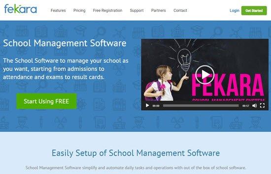 Fekara School Management Software